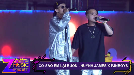 Cớ sao em lại buồn - Huỳnh James x Pjnboys [Z Countdown Music Fest 2020]