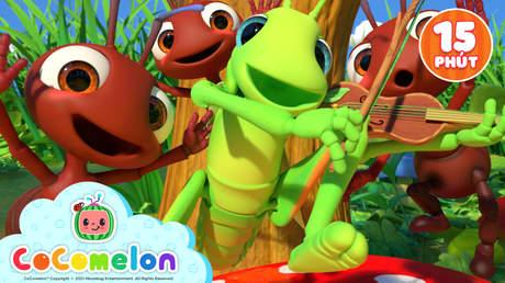CoComelon - Superclip 15: The Ant And The Grasshopper