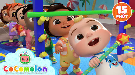CoComelon - Superclip 21: My Daddy Song