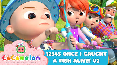 CoComelon: 12345 Once I Caught A Fish Alive! V2