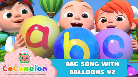 CoComelon: ABC Song With Balloons V2