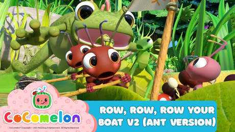 CoComelon: Row, Row, Row Your Boat V2 (Ant Version)