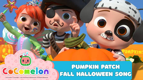 CoComelon: Pumpkin Patch - Fall Halloween Song