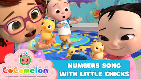 CoComelon: Numbers Song With Little Chicks