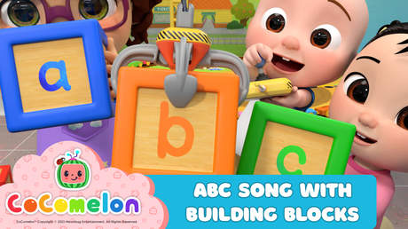 CoComelon: ABC Song With Building Blocks