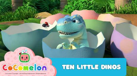 CoComelon: Ten Little Dinos