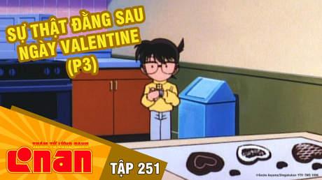 Conan - Tập 251: Sự thật đằng sau ngày Valentine (P3)