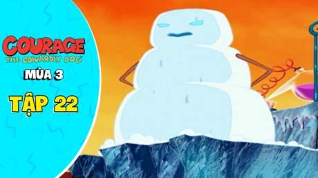 Courage Dog S3 - Tập 22: Sự trả thù của người tuyết