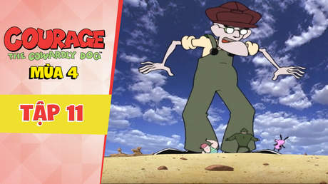 Courage Dog S4 - Tập 11: Muriel nổ tung