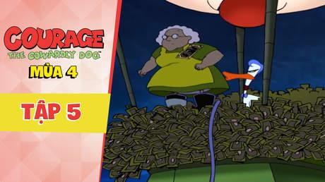 Courage Dog S4 - Tập 5: Khinh khí cầu của Le Quack
