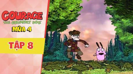 Courage Dog S4 - Tập 8: Đi săn thành bị săn