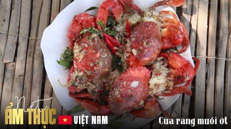 Nét ẩm thực Việt: Cua rang muối ớt