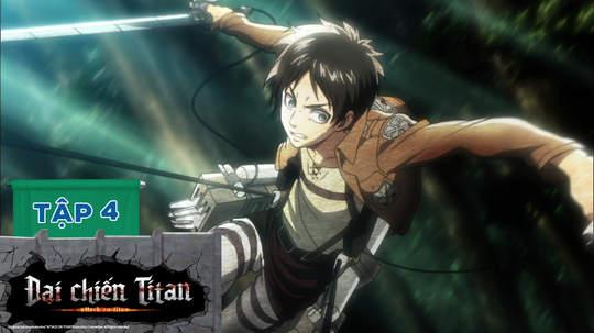 Đại Chiến Titan S1 - Tập 4: Sự trổi dậy của nhân loại (P2)