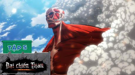Đại Chiến Titan S1 - Tập 5: Trận chiến đầu tiên