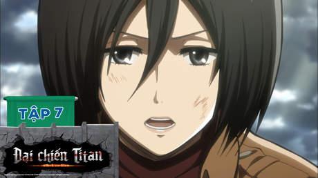 Đại Chiến Titan S1 - Tập 7: Thanh kiếm nhỏ
