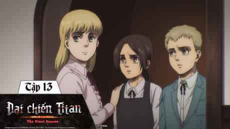 Đại Chiến Titan S4 - Tập 13: Đứa trẻ của khu rừng
