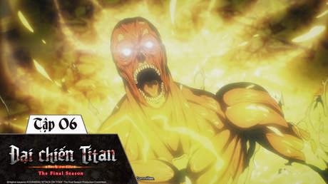 Đại Chiến Titan S4 - Tập 6: Khổng Lồ Búa Chiến