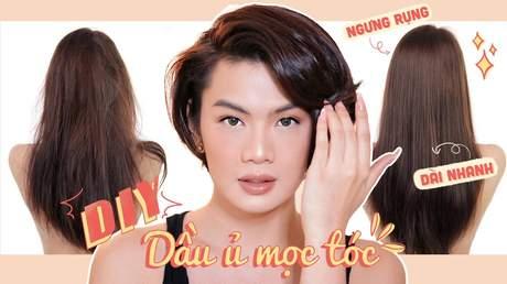 Đẹp cùng Đào Bá Lộc: Tự làm dầu dưỡng tóc giảm rụng & chắc khỏe