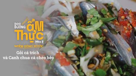 Dọc đường ẩm thực Mùa 2 - Gỏi cá trích và Canh chua cá chèo bẻo