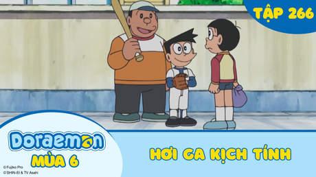 Doraemon S6 - Tập 266: Hơi ga kịch tính