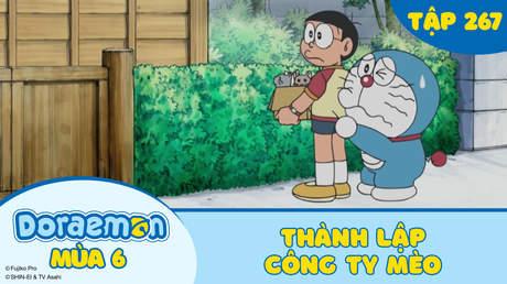 Doraemon S6 - Tập 267: Thành lập công ty Mèo
