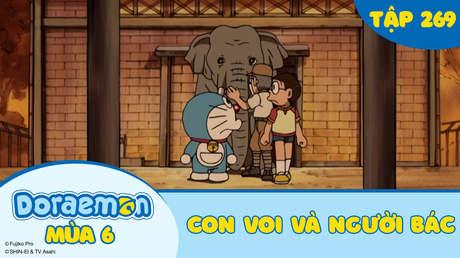 Doraemon S6 - Tập 269: Con voi và người bác