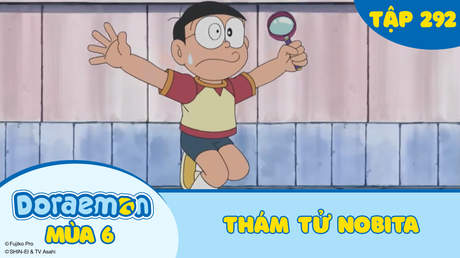 Doraemon S6 - Tập 292: Thám tử Nobita