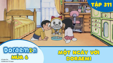 Doraemon S6 - Tập 311: Một ngày với Doraemi