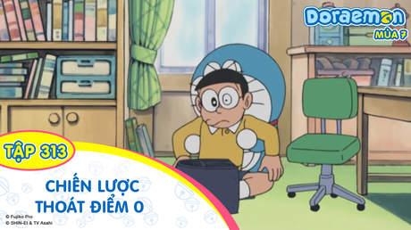 Doraemon S7 - Tập 313: Chiến lược thoát điểm 0 của Nobita