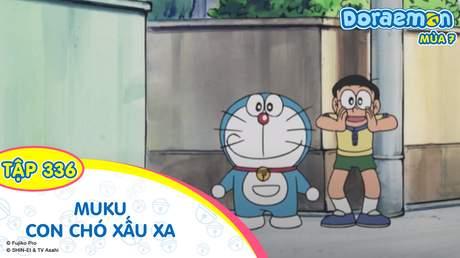 Doraemon S7 - Tập 336: Muku con chó xấu xa