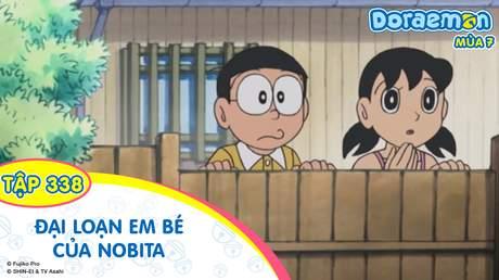 Doraemon S7 - Tập 338: Đại loạn em bé của Nobita