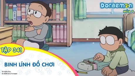Doraemon S7 - Tập 341: Binh lính đồ chơi