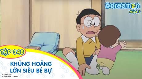 Doraemon S7 - Tập 348: Khủng hoảng lớn siêu bé bự