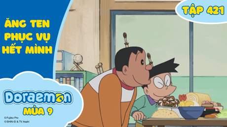 Doraemon S9 - Tập 421: Ăng ten phục vụ hết mình