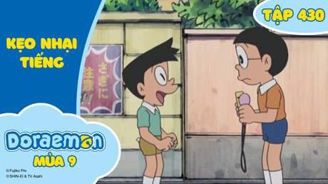 Doraemon S9 - Tập 430: Kẹo nhại tiếng