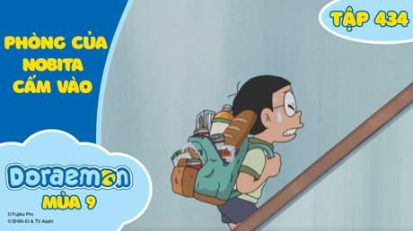 Doraemon S9 - Tập 434: Phòng của Nobita - Cấm vào