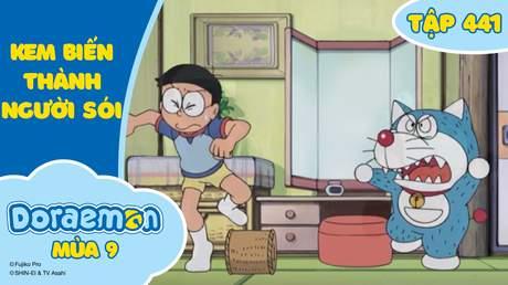 Doraemon S9 - Tập 441: Kem biến thành người sói