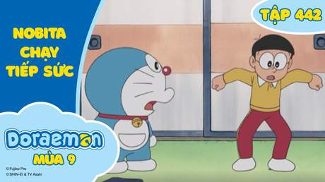 Doraemon S9 - Tập 442: Nobita chạy tiếp sức