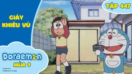 Doraemon S9 - Tập 447: Giày khiêu vũ