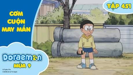 Doraemon S9 - Tập 451: Cơm cuộn may mắn