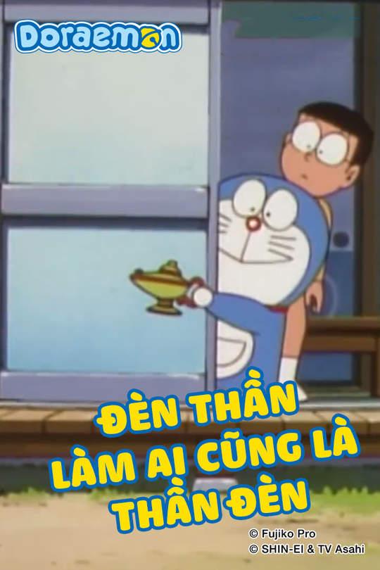 Doraemon - Tập 379: Đèn thần làm ai cũng là thần đèn