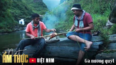 Nét ẩm thực Việt: Gà nướng quýt