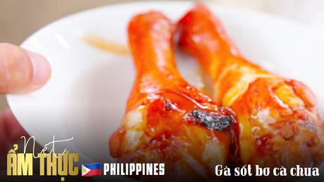 Nét ẩm thực Philippines: Gà sốt bơ cà chua