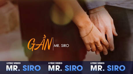 Mr. Siro - Lyrics video: Gần