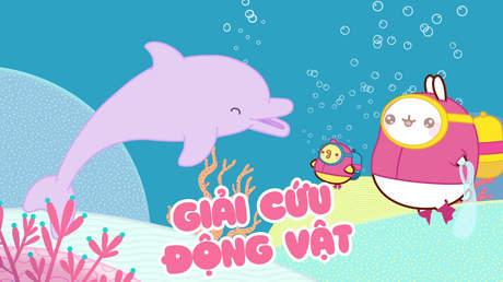 Molang Oceans day - Giải cứu động vật
