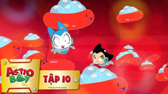 Go Astro Boy Go! - Tập 10: Siêu vi hùng mạnh