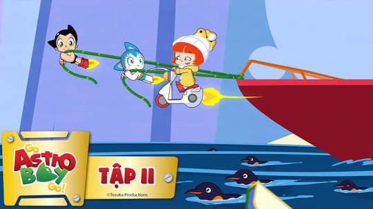 Go Astro Boy Go! - Tập 11: Trên mặt băng
