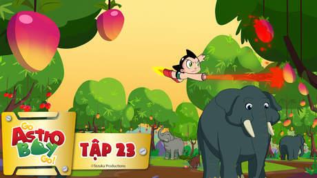 Go Astro Boy Go! - Tập 23: Tại sao voi lại băng qua đường