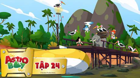Go Astro Boy Go! - Tập 24: Chú voi và bọ hung