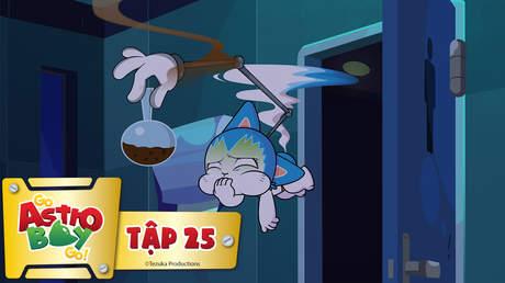 Go Astro Boy Go! - Tập 25: Giác quan và mùi hương
